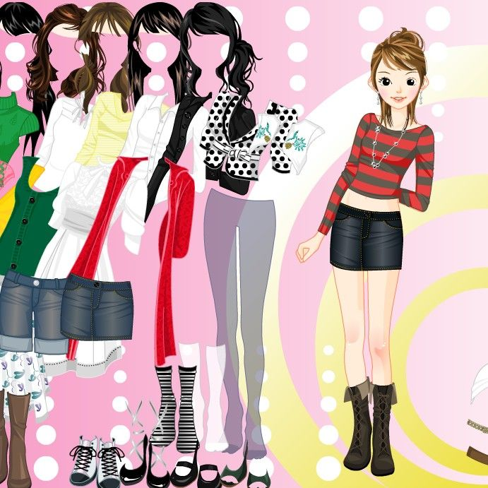 Dress Up Games  Nice Girl Dress Up Game  Girls Games  GAMES ...