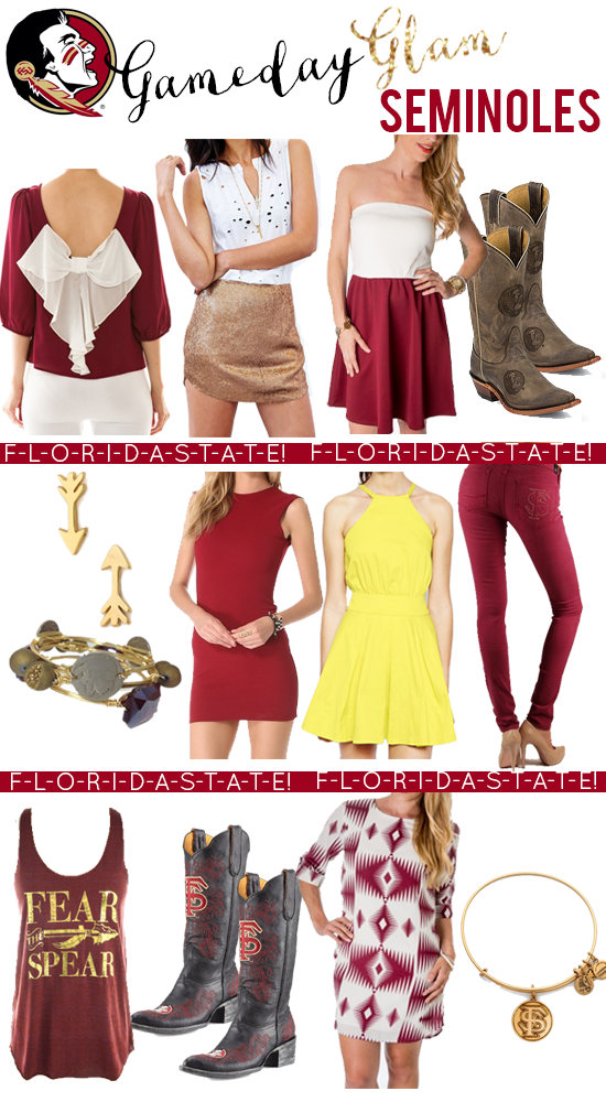 Florida State: Glam Gameday Style