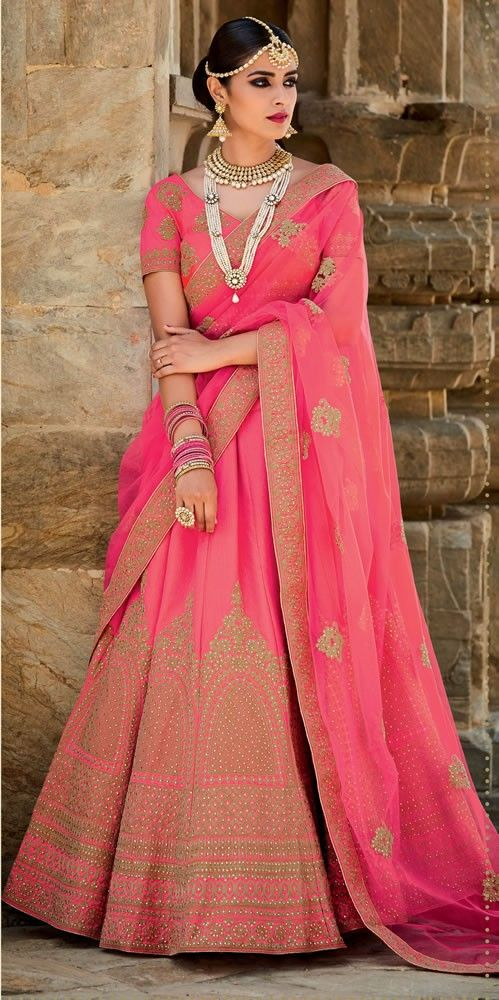 d7951b228a9de2 buy saree online Light Pink Colour Mastani Silk Embroidery and Stone Work  Lehenga Choli Buy Saree online UK - Buy Sarees online