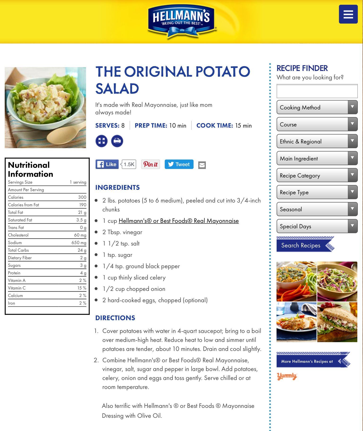 Pin by ann mals on cooking pinterest potato salad salad and hellmans potato salad forumfinder Gallery