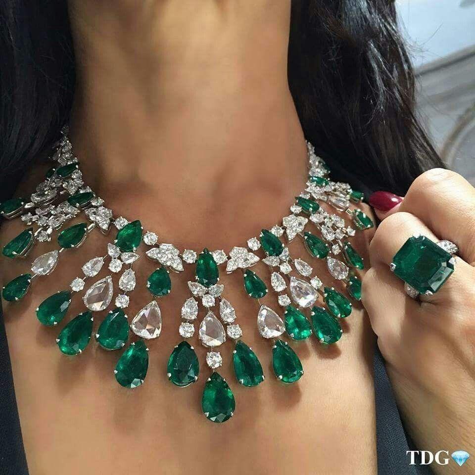 David Morris Colar De Esmeraldas Tiara De Joias Joias Com Diamantes