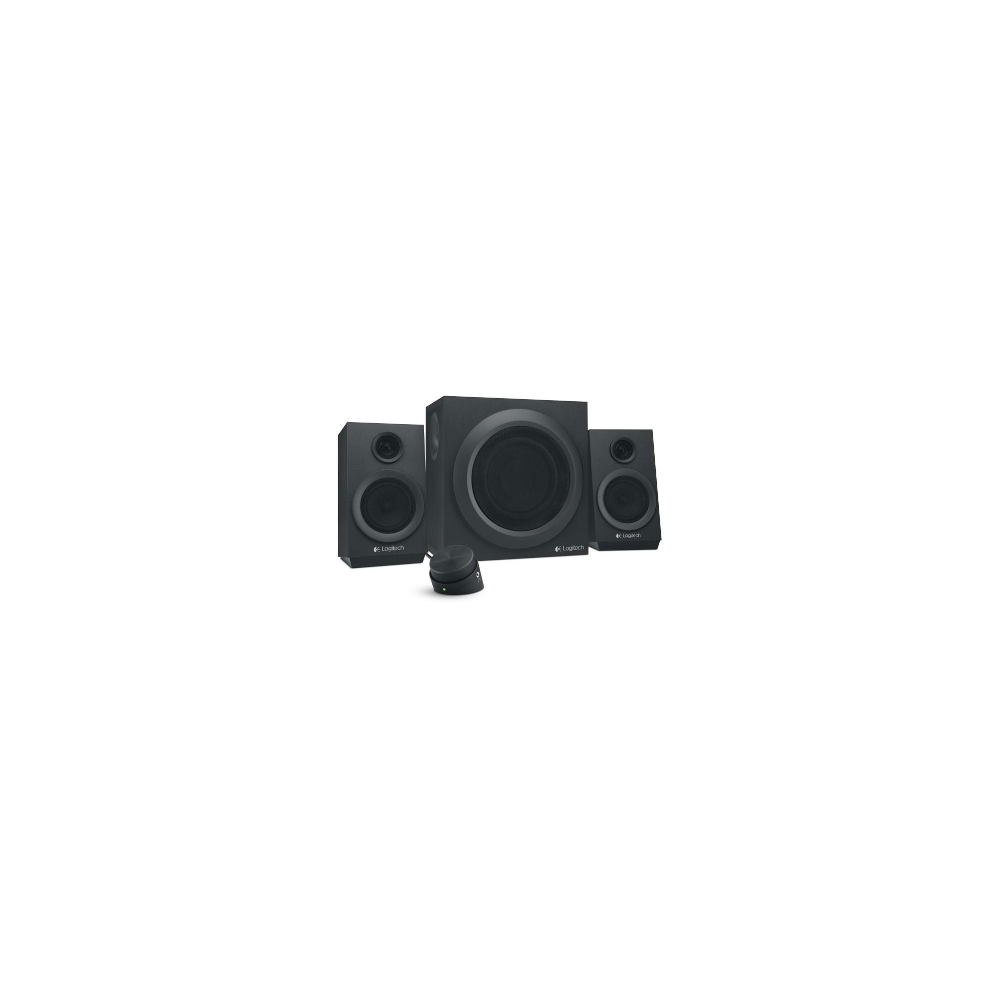 068650c1cea Logitech Z333 2.1 Speaker System - 40 W Rms - Black - 55 Hz - 20 kHz -  Control Pod, Bass Level Management (Blm)
