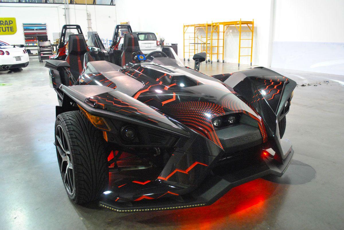 2016 Polaris Slingshot Color Change Design Car Wrap City Polaris Slingshot Slingshot Car Car Wrap