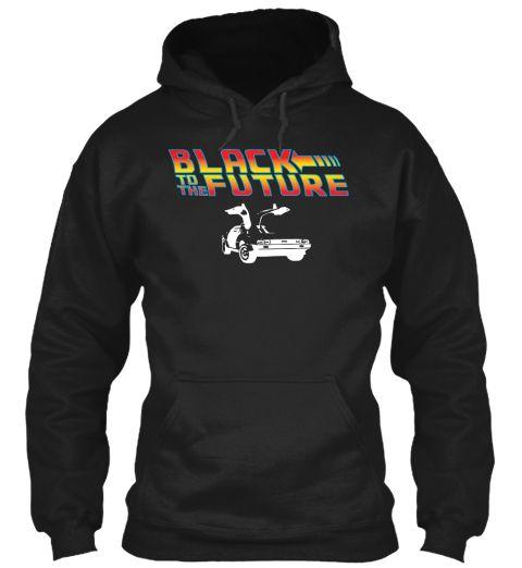 Future (Color)  Black Sweatshirt Front
