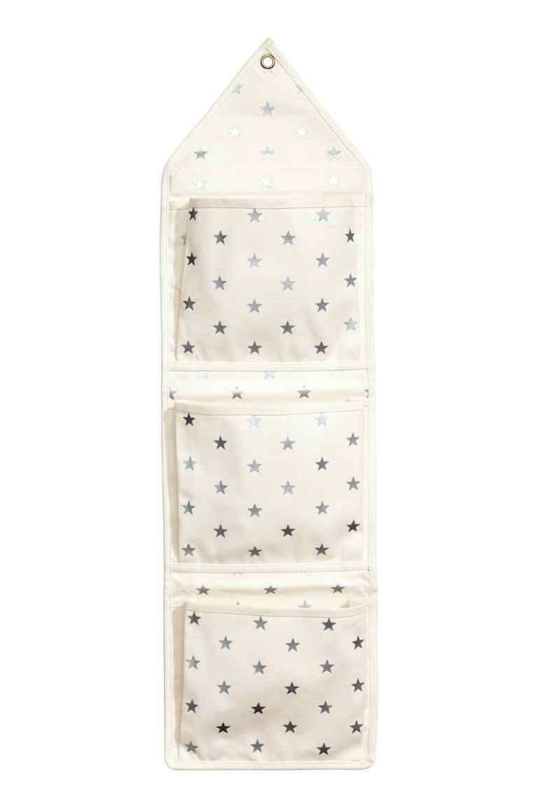 Portaoggetti da parete in tela | Fabric | Pinterest | Lonas, Blanco ...