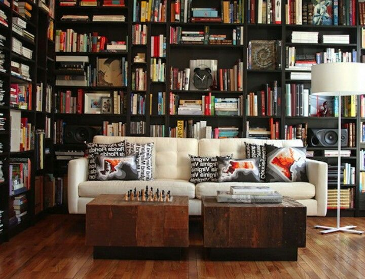 Modern Library Room Cozy Home Library Home Library Design