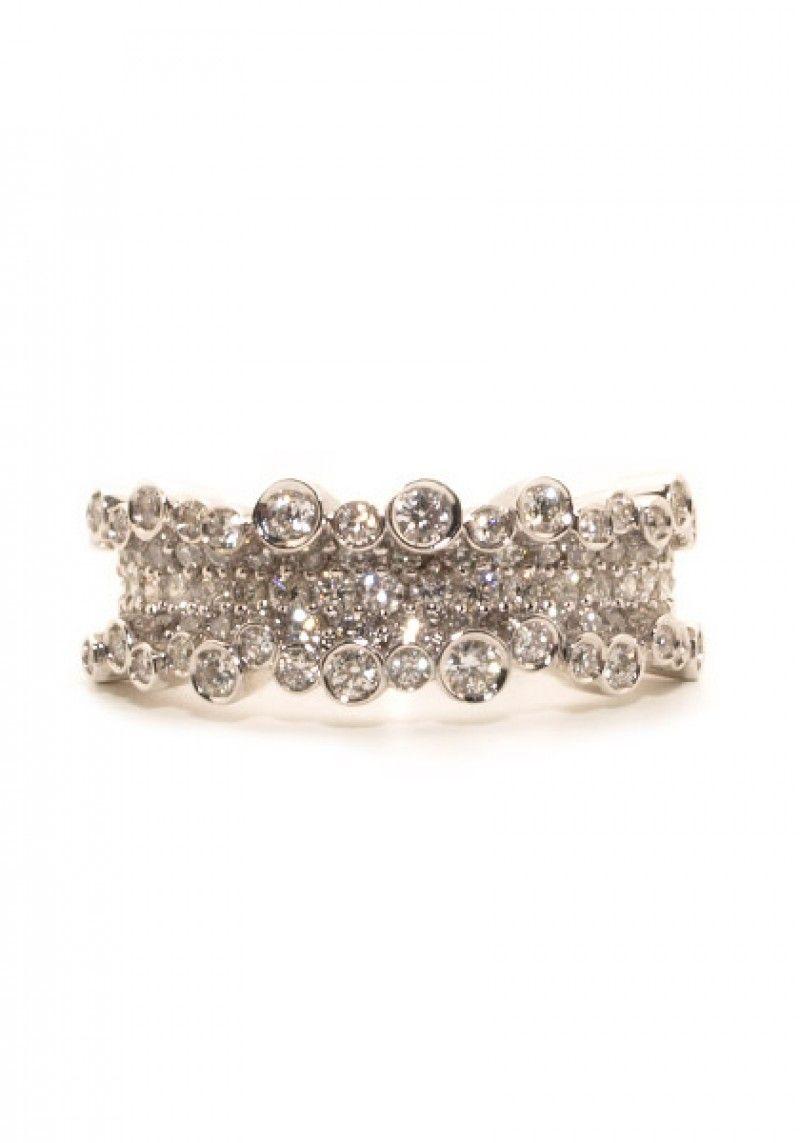 583e25c3174 Stefan Hafner Small 1.20ctw Diamond Corset Ring