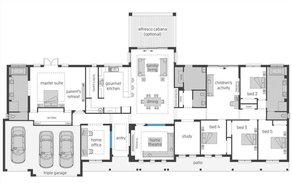 Big Home Floor Plans Large Farmhouse Floor Plans Siudy Net House Plans Australia Farmhouse Floor Plans Rectangle House Plans