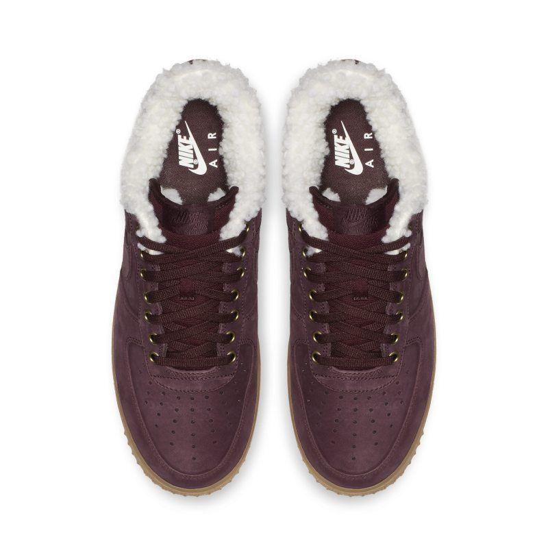 jardín Engañoso Leia  Nike Air Force 1 Premium Winter Men's Shoe - Black | Mens shoes black, Mens nike  shoes, Nubuck leather