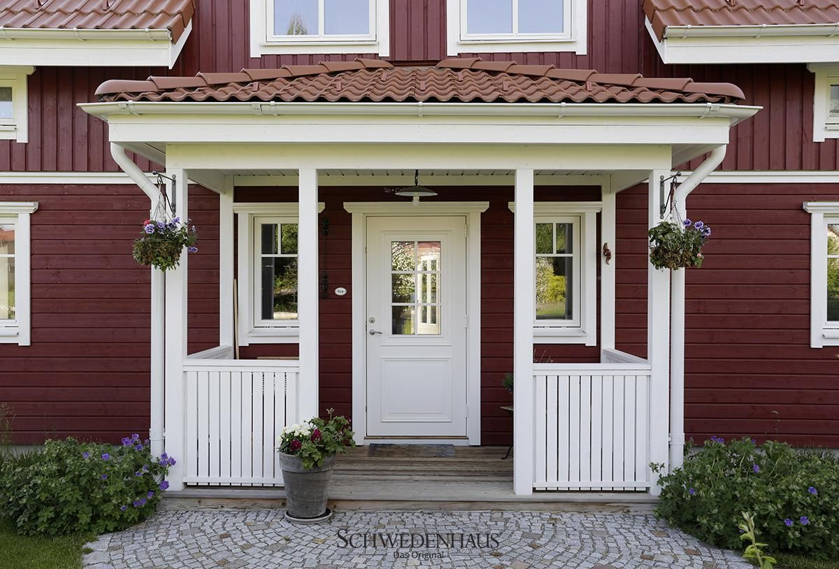 schwedenhaus in falunrot schwedenh user pinterest. Black Bedroom Furniture Sets. Home Design Ideas