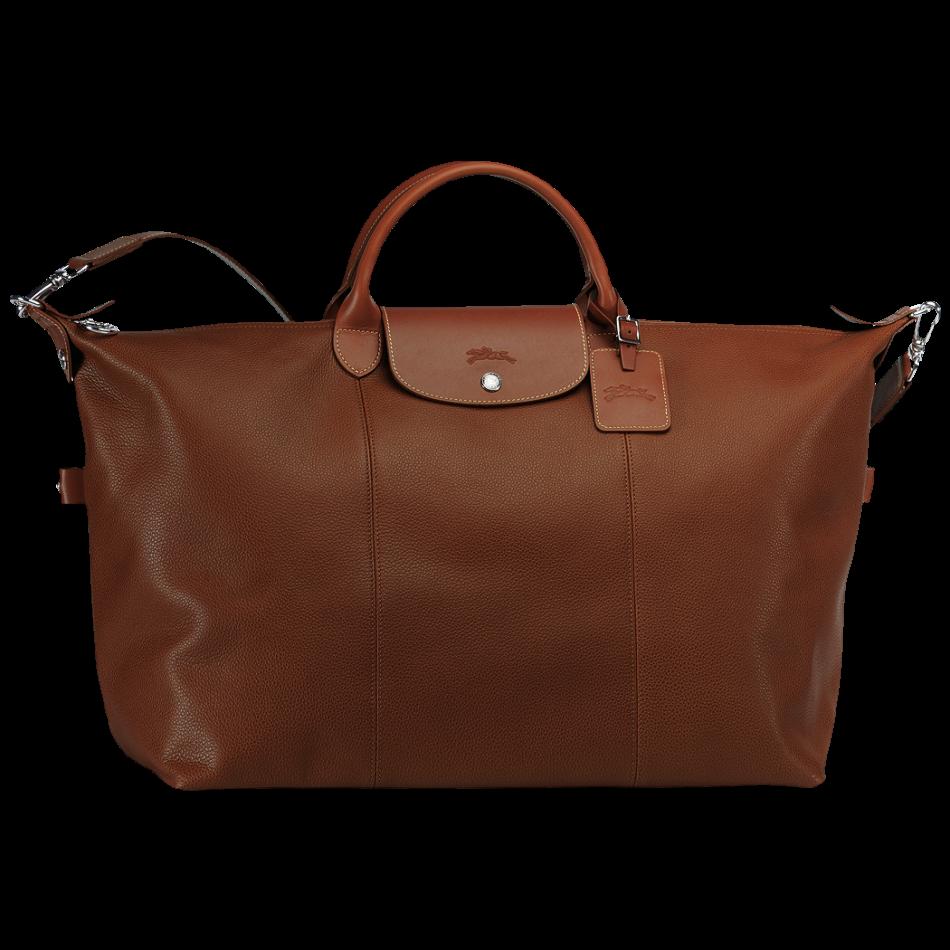Travel bag - Le Foulonné - Luggage - Longchamp - Cognac ...