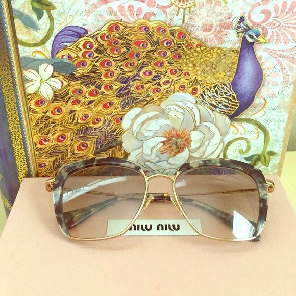 529499fe4a37 Spotted while shopping on Poshmark  💯Authentic Miu Miu Sunglasses!   poshmark  fashion  shopping  style  Miu Miu  Accessories