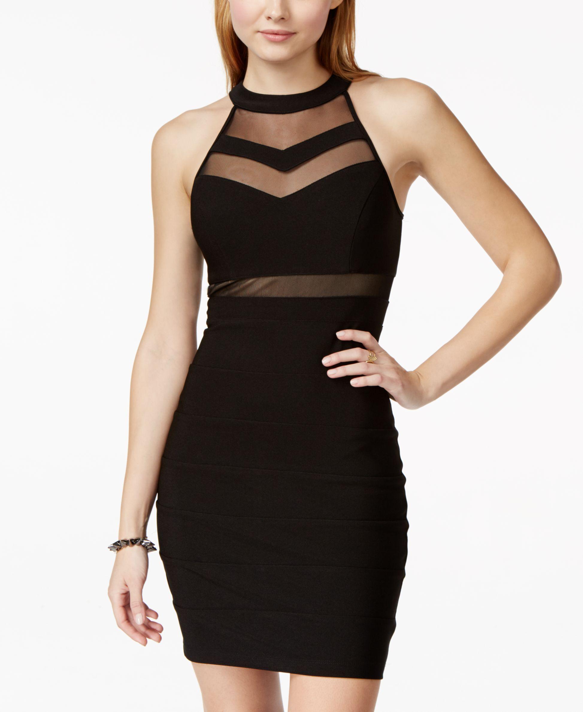 7b7269705 Juniors' Illusion Bodycon Dress | Fancy dress | Bodycon Dress ...