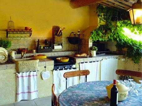 Idées Pour Aménager Une Cuisine Dété à Lextérieur Cuisine - Evier et meuble cuisine pour idees de deco de cuisine