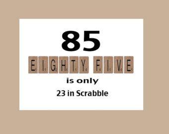 85th Birthday Card 85th Birthday Milestone Birthday The Big 85 Funny Birthday Humorous Birth 85th Birthday 85th Birthday Party Ideas Grandpa Birthday Card