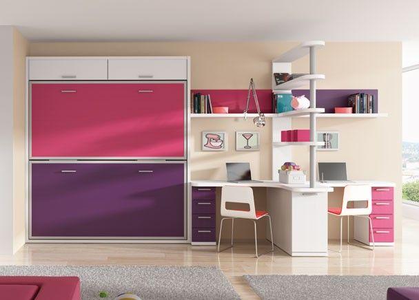 Habitacion infantil 002 33 novedades de mueble juvenil pinterest habitaciones infantiles - Habitaciones ninos literas ...