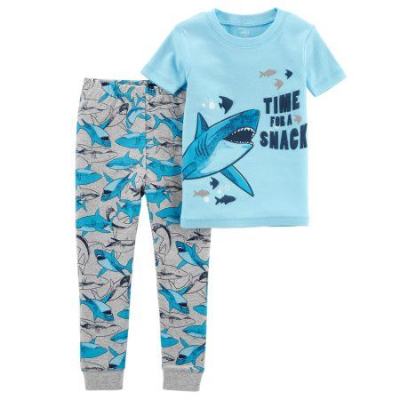 f14dcf0ac Child of Mine by Carter s Baby Boy Short Sleeve Shirt   Pants ...