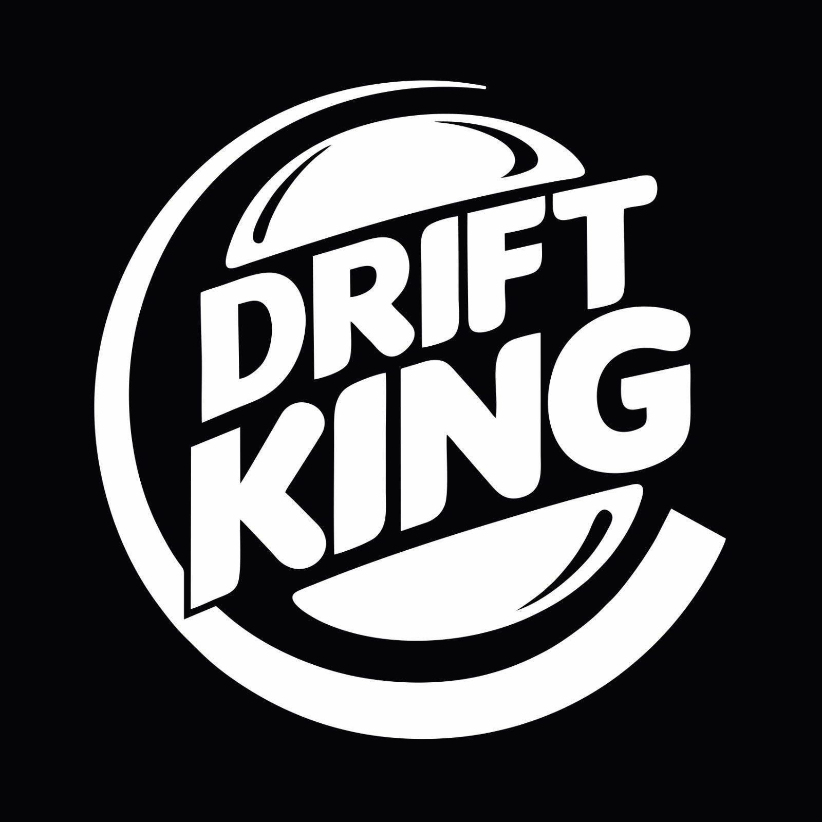 Drift king jdm drifting stance car window bumper vinyl decal sticker ebay