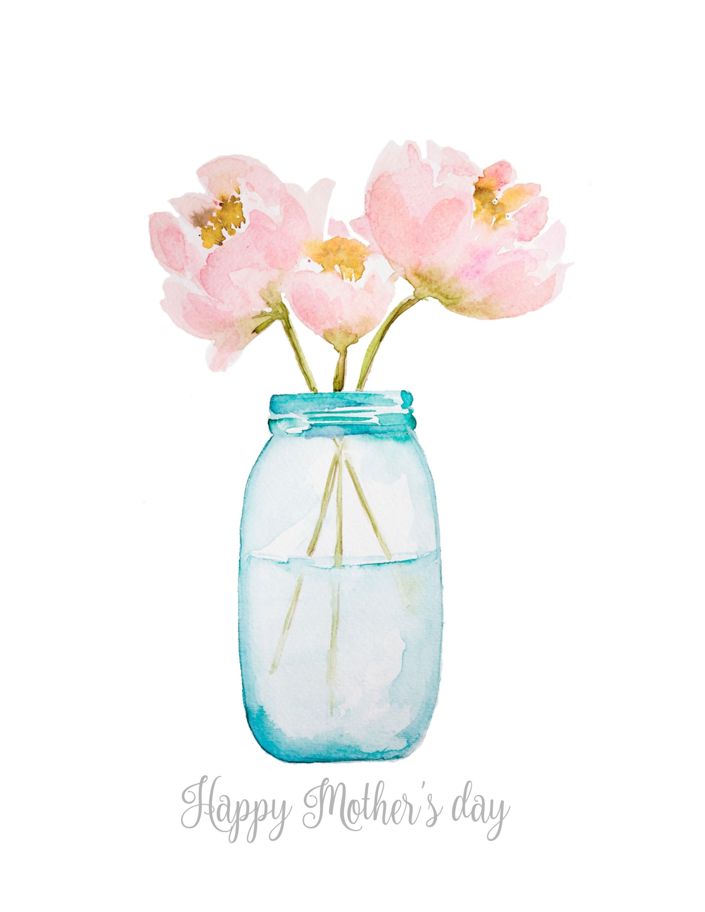 3D paper flower art with free watercolor printable