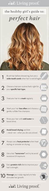 Photo of Want healthy, shiny hair? Try these 10 tips and discover how to get the healthie…