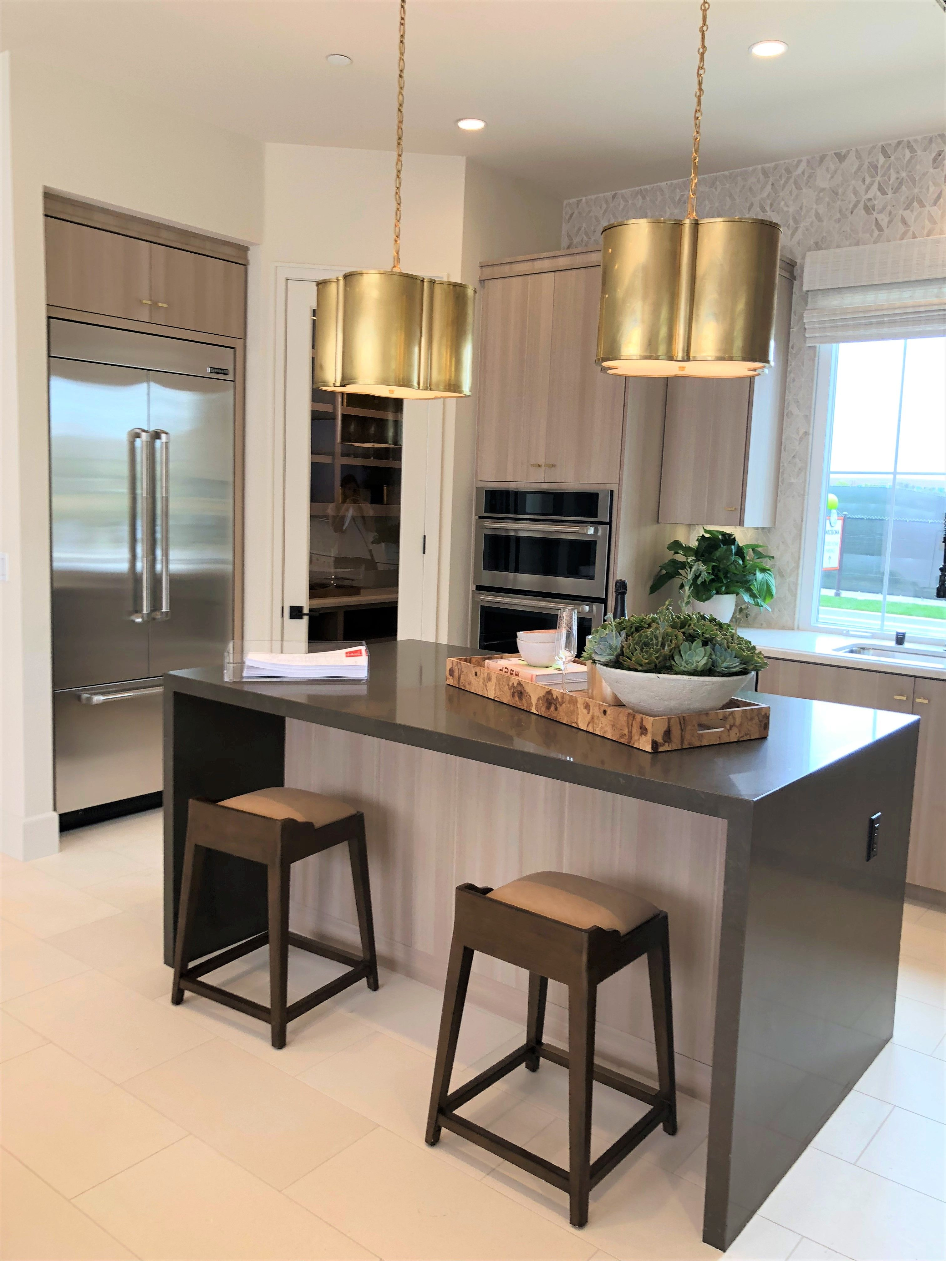 Spacious Kitchen With Modern Appliances At Barcelona At Los Olivos