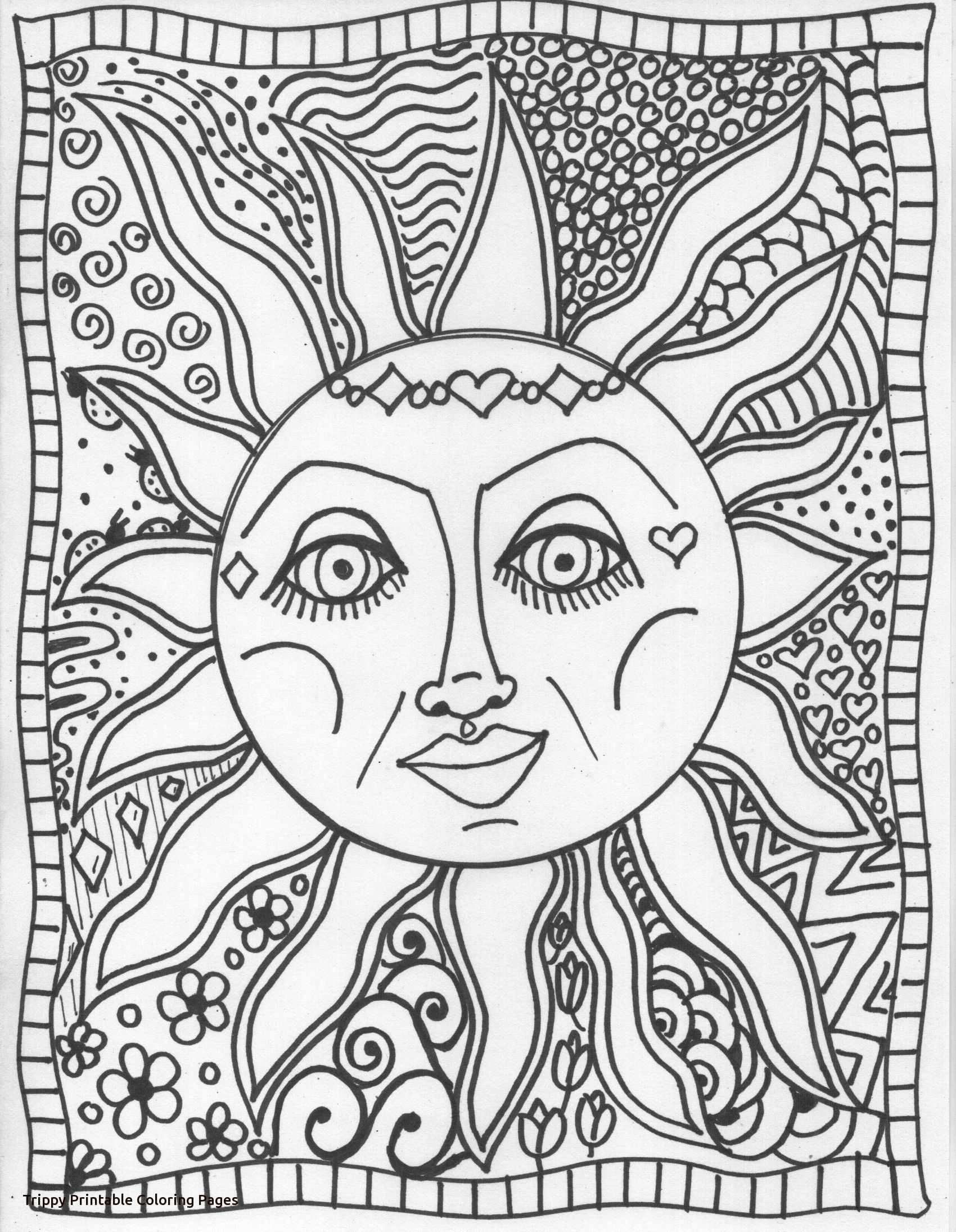 Trippy Coloring Pages | Inspirational quotes | Pinterest | Kids ...