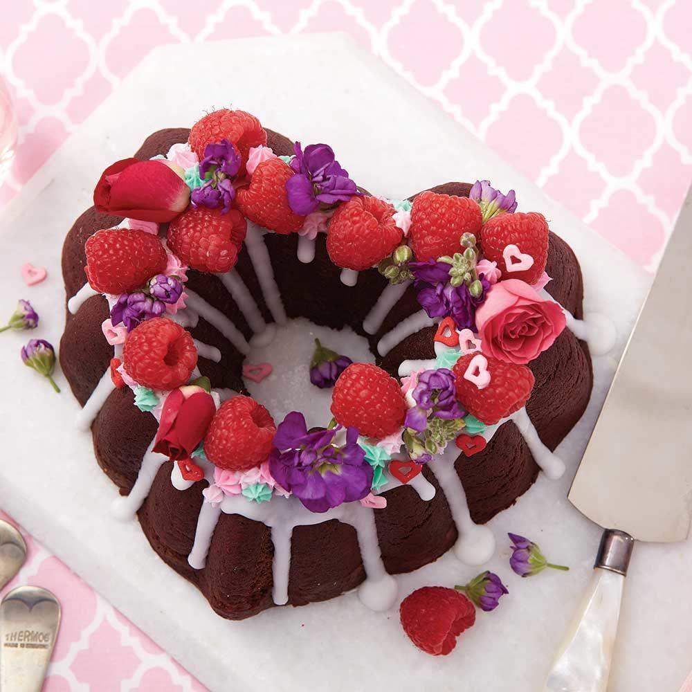 Chocolate pound cake heart shape cake recipe