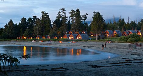 Transporting Beachside Cabins In Canada On Vancouver Island Tofino Summer Travel Idea