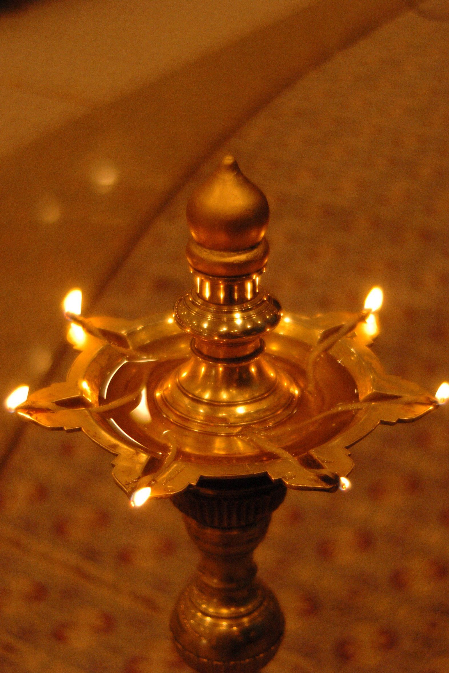 7 Wick Tower Lamp Oil Lamp Candle Antique Oil Lamps Oil Lamps