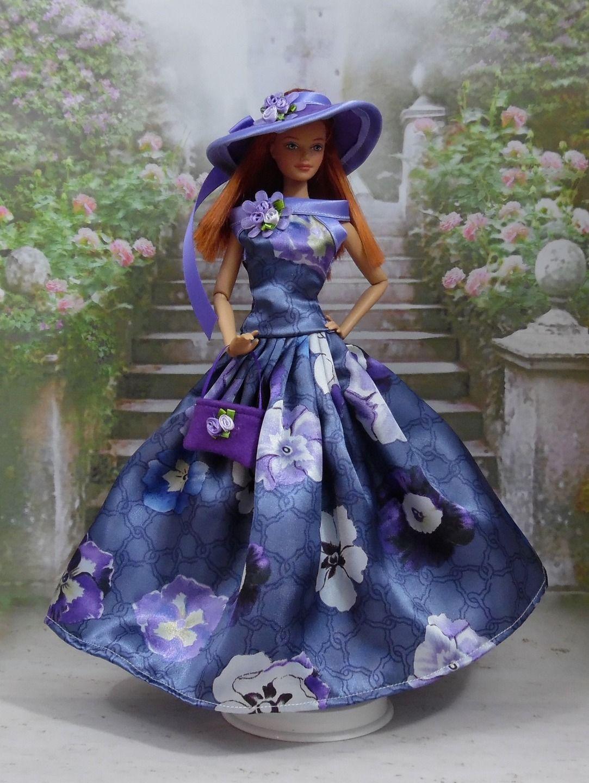 Robe N°85 habit pour poupée Barbie fashionistas et autres f3788