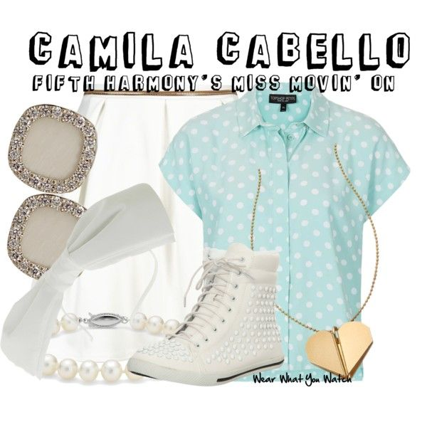 Inspired by Camila Cabello in the 2013 Fifth Harmony music video Miss Movin' On.