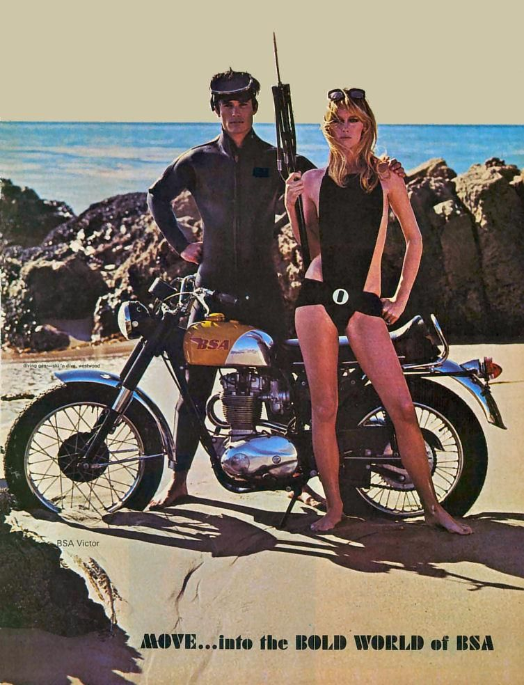 BSA Motorcycles USA 1970