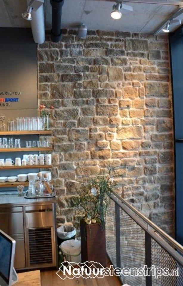 Steenstrips van natuursteen   steenstrips   Pinterest   Walls and ...