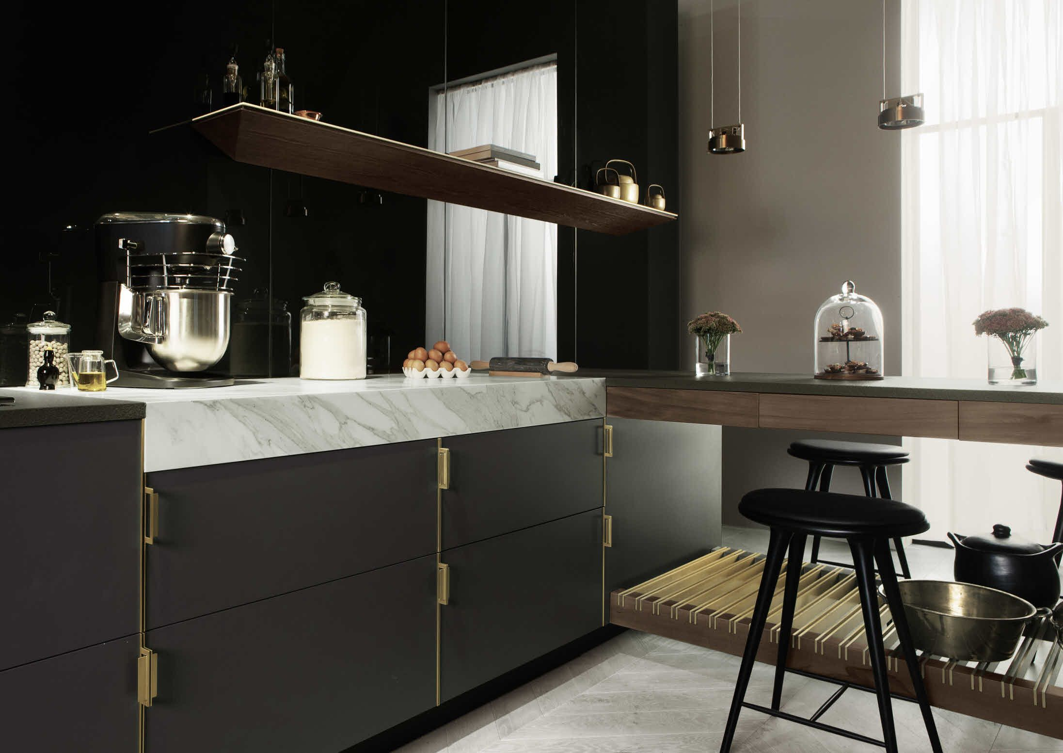 kitchen design concepts Poggenpohl The Fourth Wall Concept