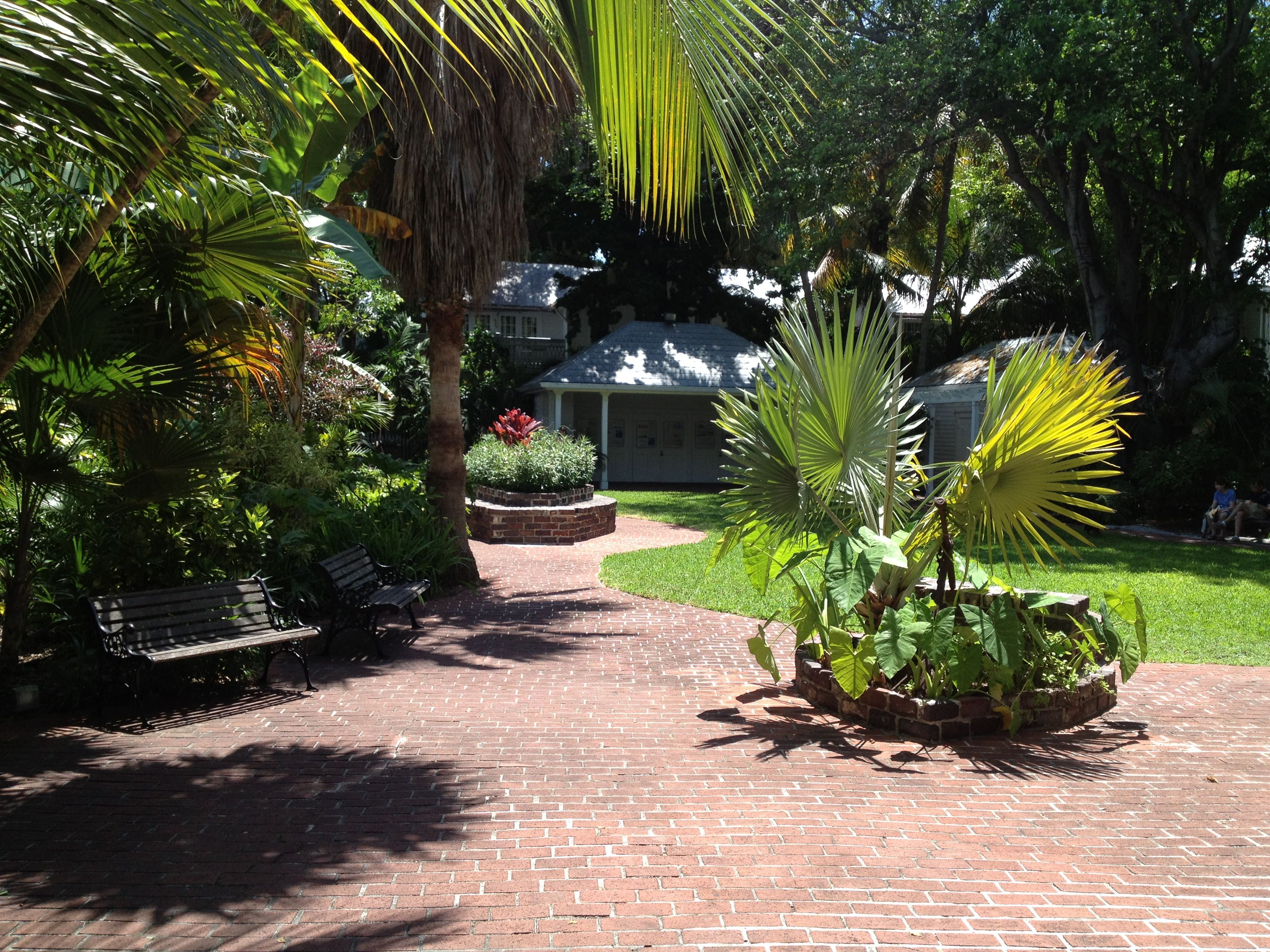 oldest house in key west garden - Garden House Key West