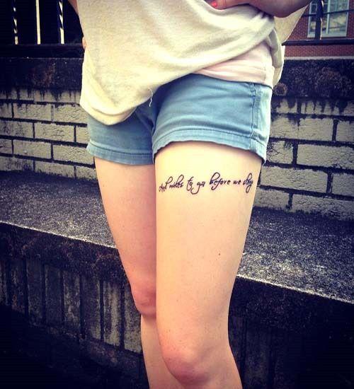 Top Thigh Tattoo Ideas Part 2 Ink Tattoos Tattoos For Women
