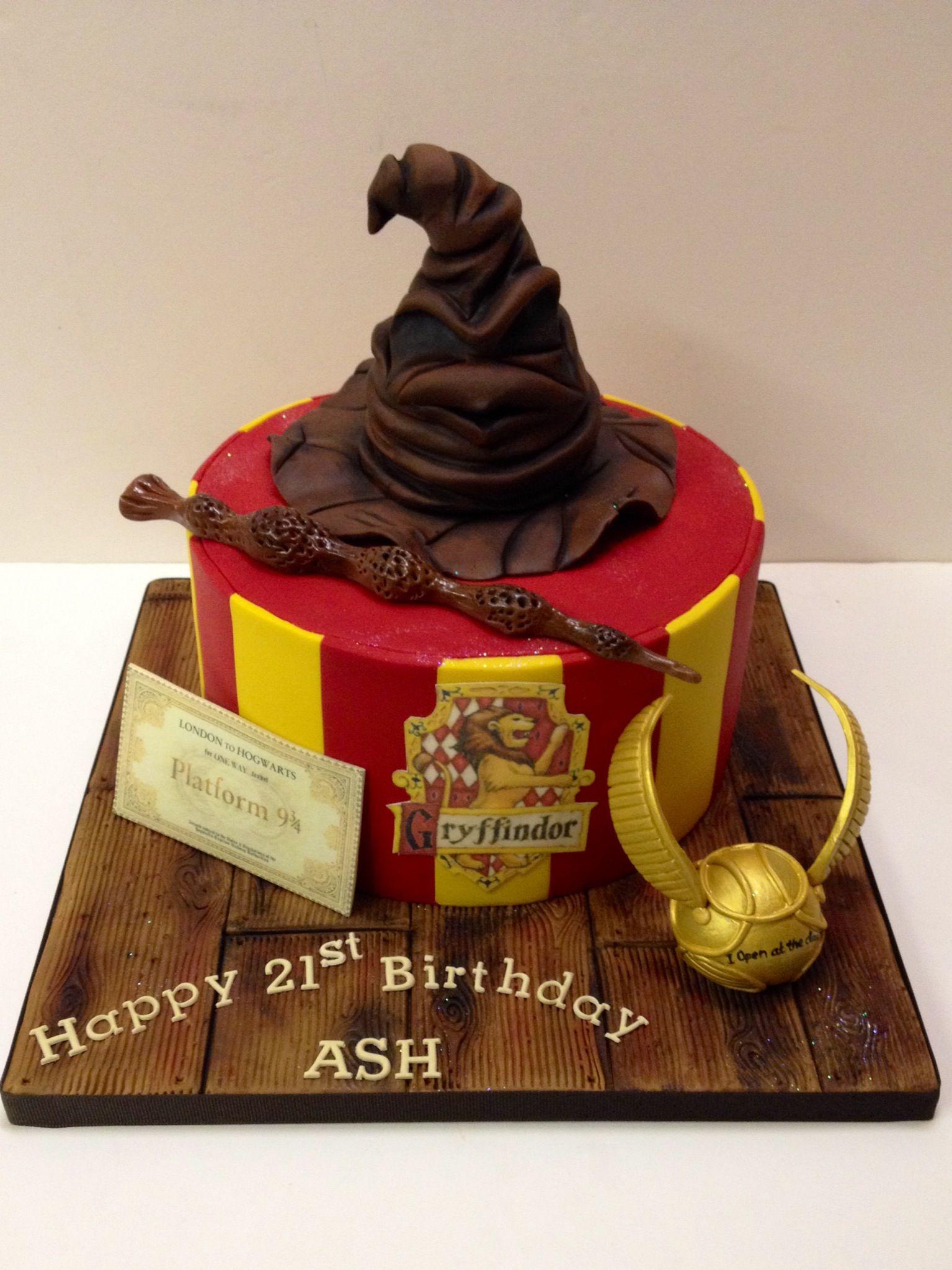 Harry Potter birthday cake! Boys/girls/men/women! Harry