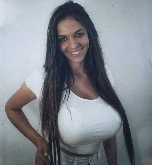 Latin big woman breast