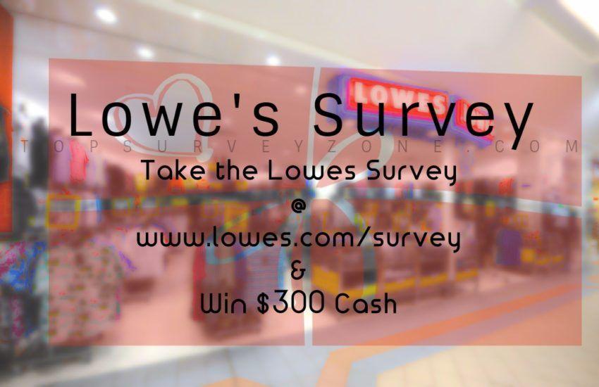 Lowes Survey Www Lowes Com Survey Surveys Cracker Barrel Lowes
