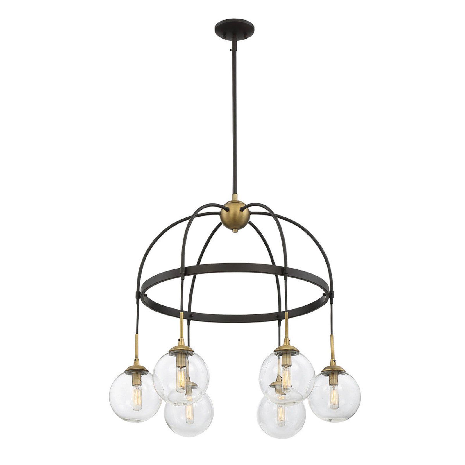 Hanging globe round chandelier 6 light round chandelier hanging globe round chandelier 6 light arubaitofo Gallery