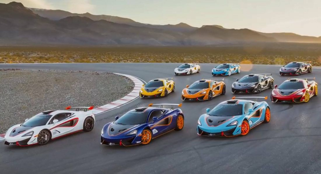 Mclaren Mso X Delivery Event Brings All Ten Models Together Carscoops Mclaren Fastest Production Cars Super Cars