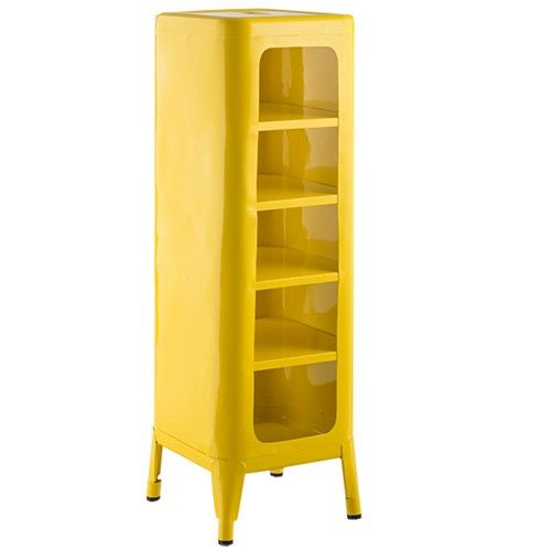 Tolix Storage Cabinet - 5 Shelf - Xavier Pauchard Reproduction ...