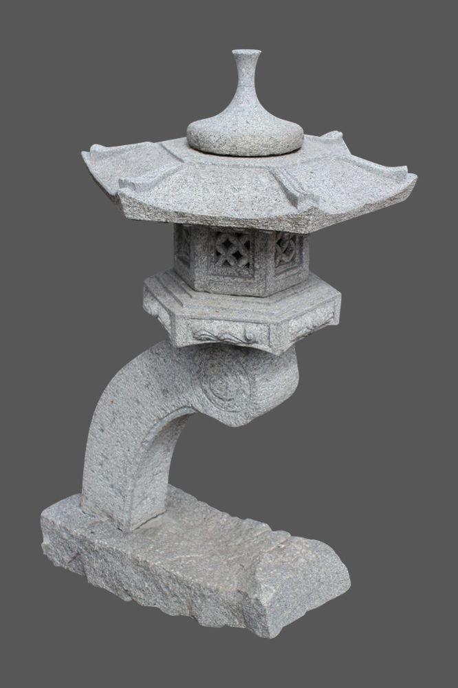 Rankei Steinlaterne Aus Granit Stein Steinlampe Chinesische Pagode Japanische Gartengestaltung Japan Garten Japanese Garden Japanese Lamps Zen Garden