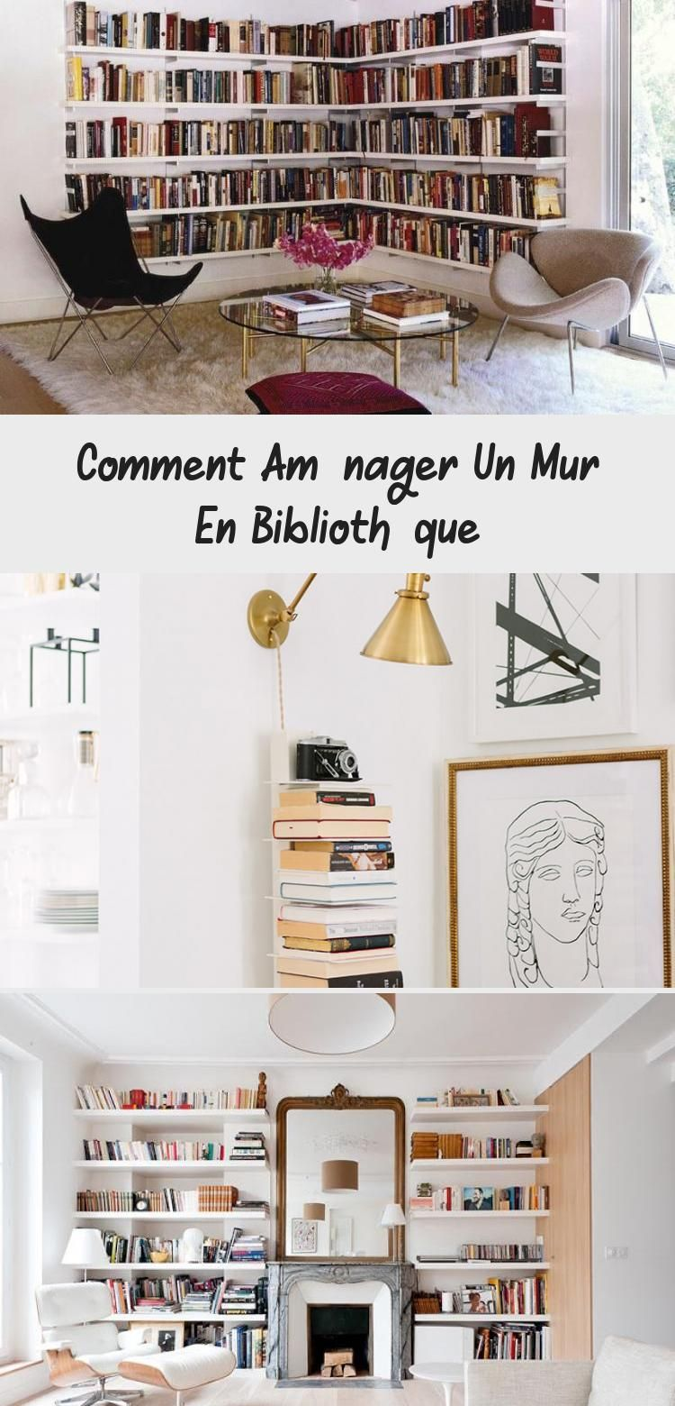 Comment Amenager Un Mur En Bibliotheque Decor Gallery Wall Home