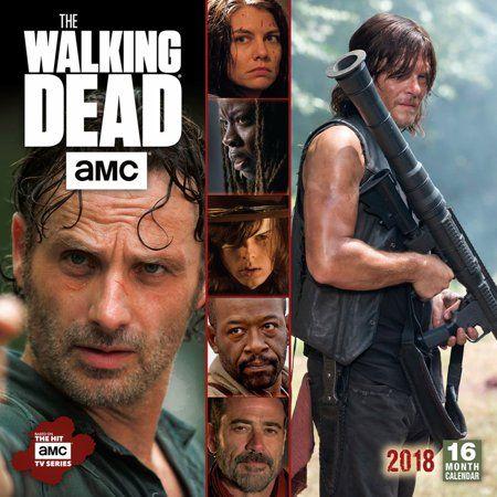 The Walking Dead Amc 2018 Calendar Walmart Com The Walking Dead Ebook Amc