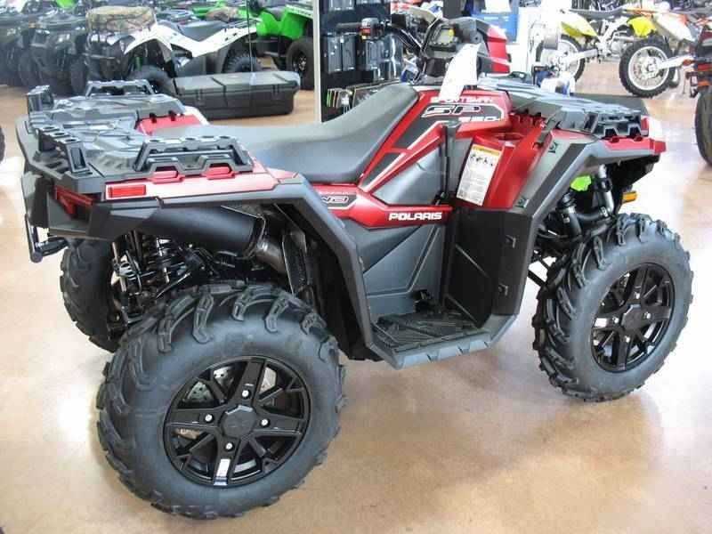 New 2017 Polaris Sportsman 850 SP Matte Sunset Red ATVs For