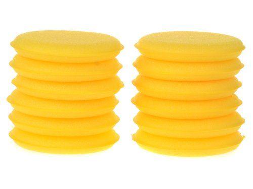 Imixlot Wholesale 12 pcs Soft Waxing Polish Wax Foam Sponge Applicator Pads Clean Car Glass Yellow Car Wax/Polish Foam Sponge Applicator Pads imixlot http://www.amazon.com/dp/B00F4NI6TA/ref=cm_sw_r_pi_dp_Hhdvvb1VSNYR1
