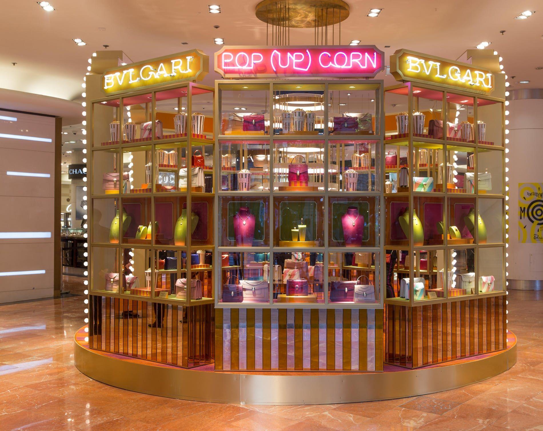 0b0c63b0abd7c Bulgari opens a pop-up showcase at Galeries Lafayette Department Store in  Paris