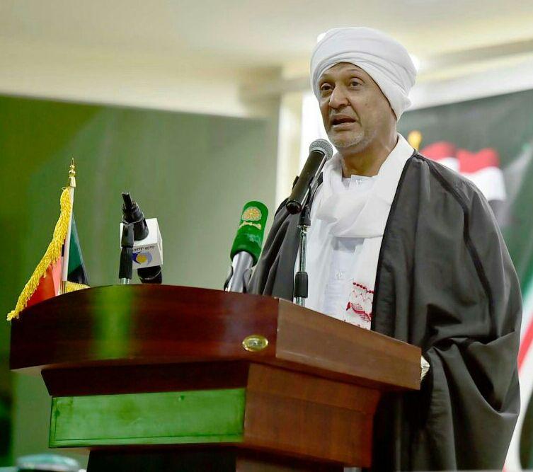 صورة السفير عبد الباسط السنوسي سفير السودان بالسعودية