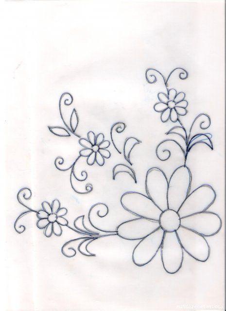 Resultado de imagem para riscos de bordados embroidery pinterest patrones beb e desenho - Plantillas para pintar camisetas a mano ...